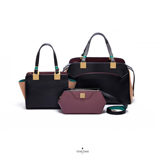 Veneziani Milano. High luxury female bags.